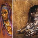 Ben Mogador : peintre africain.
