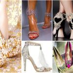 10 chaussures de mariages pour femmes.
