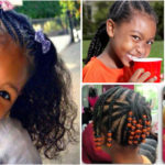 Cornrows hairstyles for black baby girls | Kids hairstyles