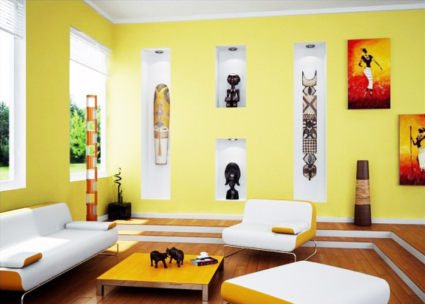 1/ African Home Decor