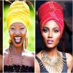Comment nouer un foulard/turban ? Badu /Néfertiti headwrap.