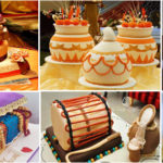 8 colorful wedding cakes in colors of Africa |  African Wedding