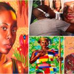 Kehinde Wiley : peintre afro-américain.