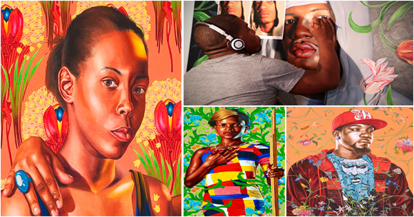kehinde-wiley-peintre-afro-americain