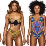 Maillots de bain en Kente de la collection Bfyne 2016.