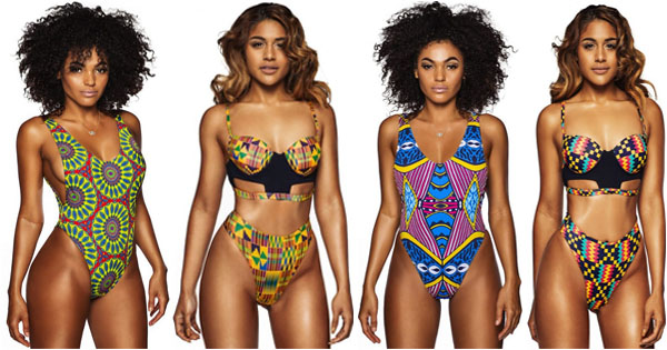 2fed44b0aed Women's Swimwear | Brand Bfyne Presents Kente 2016 Collection ...