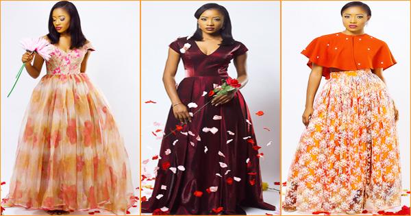 Mode africaine  Nova couture présente la collection 2016 « Lady Valentina.  »