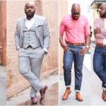 Plus-size menswear: Kelvin by Notoriously Dapper