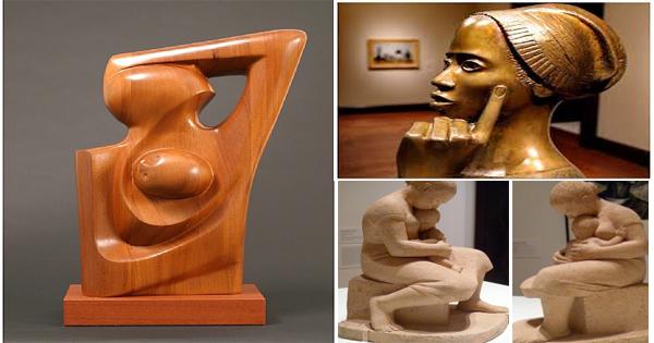 sculpture-africaine-elizabeth-catlett-sculptrice-americano-mexicaine