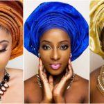 Stars nigérianes Dorcas Shola Fapson & Lola Rae sublimes en gele.