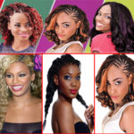 Pick And Drop Braid Hairstyles for Black women