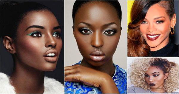 Can suggest Nude makeup for black women have
