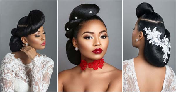 Wedding Hairstyles for black women by Charis Hair – Afroculture.net