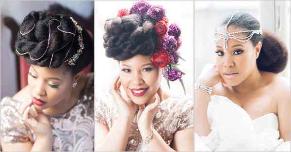 Wedding hairstyles for black women | Ebony Clark – Afroculture.net