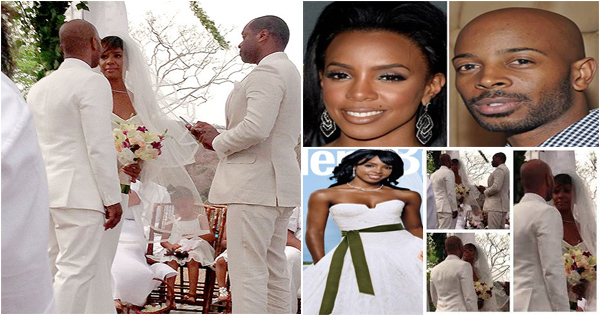 Mariage de stars : Kelly Rowland et Tim Witherspoon ...  Kelly