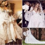 Robe de mariée de la chanteuse Ciara