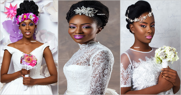 6 Wedding Hairstyles | Black women – Afroculture.net