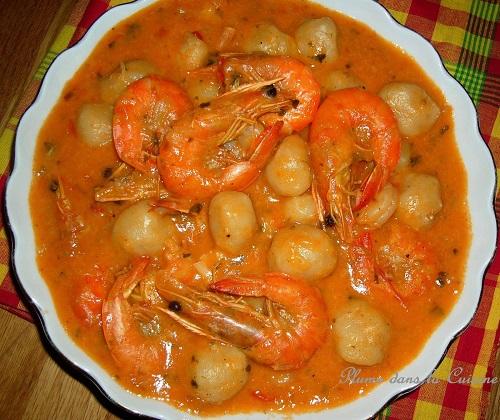 8 les dombr s aux crevettes - Cuisine antillaise guadeloupe ...