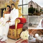 Mariage de stars : l'actrice nigériane Stephanie Okereke et Idahosa Linus.