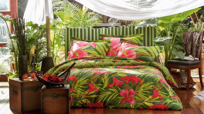 d co tropicale inspiration maison. Black Bedroom Furniture Sets. Home Design Ideas