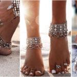 Chaînes de cheville | Accessoire mode de beauté