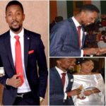 Celebrity wedding: the singer Serge Beynaud & Jacinta
