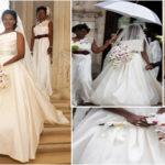 Robe de mariée de l'actrice nigériane Stephanie Okereke