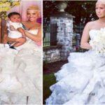 Robe de mariée d'Amber Rose
