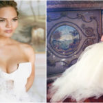 Chrissy Teigen Model Wedding Dress | Vera Wang