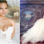 Robe de mariée du mannequin Chrissy Teigen | Vera Wang