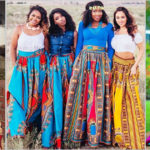 Jupe longue africaine – Tendance mode