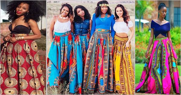 Jupe longue africaine \u2013 Tendance mode