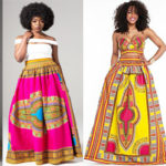 Dashiki maxi skirt | fashion trend