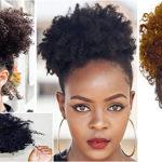 Afro Puff – Coiffure tendance femme noire & métisse