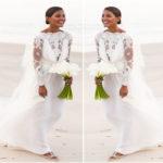 Robe de mariée du mannequin Emanuela de Paula | Elie Saab