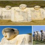 Martinique : Anse Caffard sculpture hommage aux esclaves africains | Cap 110