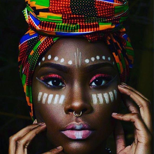 Tribal Makeup Fashion Trend Afroculturenet