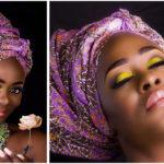 Foulard africain coloré par Uriel Oputa