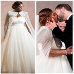 Photos féeriques : mariage de stars Serena Williams & Alexis Ohanian