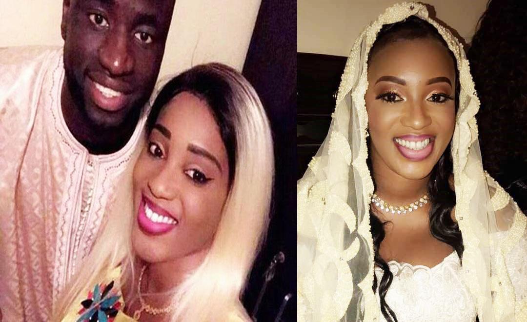 Husband Senegalese Footballer Cheikhou Kouyaté Wedding 2017