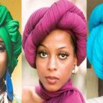 Comment nouer un foulard ? Style Diana Ross turban