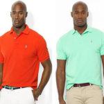 Homme noir : quelle couleur de polo choisir ? Inspiration Chris Collins Ralph Lauren