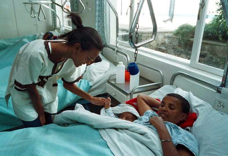 With The Launch Of Liya Kebede Foundation She Wanted To Raise Awareness Difficulties Faced By Women In Childbirth But Also Provide Training