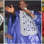Youssou N'Dour always beautiful in African traditional clothing