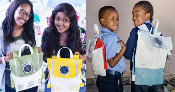 7dc2aad27d034c Thato Kgatlhanye   Rea Ngwane, deux sud-africaines ont crée des « sacs à  dos solaires » pour les écoliers des villages défavorisés