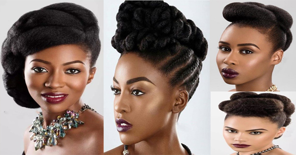 Afro Hair: 4 Ideas For Natural Wedding Hairstyles For