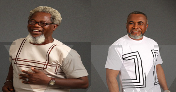 African Fashion 60 Years Old Actors Victor Olaotan Zack Oriji For Yomi Casual