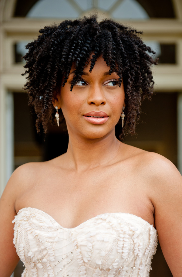 Wedding To Be Beautiful With Your Natural Hairstyles Black Brides