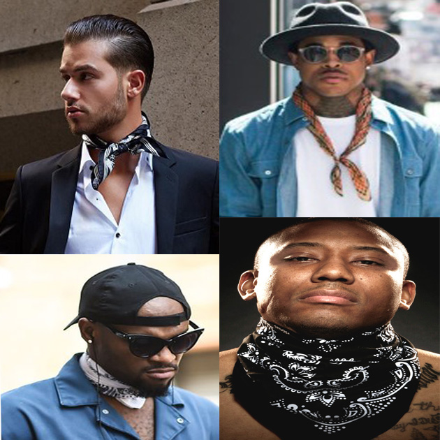7 Stylish Ways To Wear Men S Bandana Afroculture Net