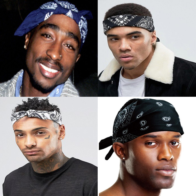 7 Stylish Ways to Wear Men s Bandana – Afroculture.net c9db1b9d2ec